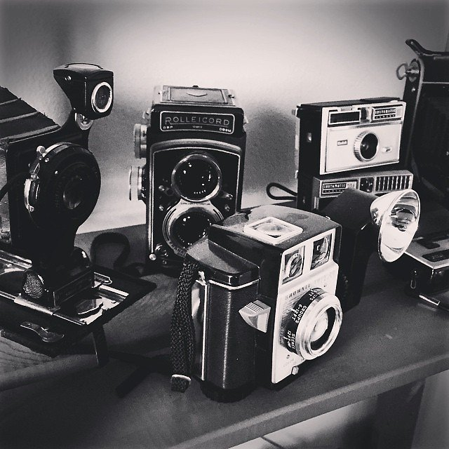 It is #nationalcameraday and I like cameras.