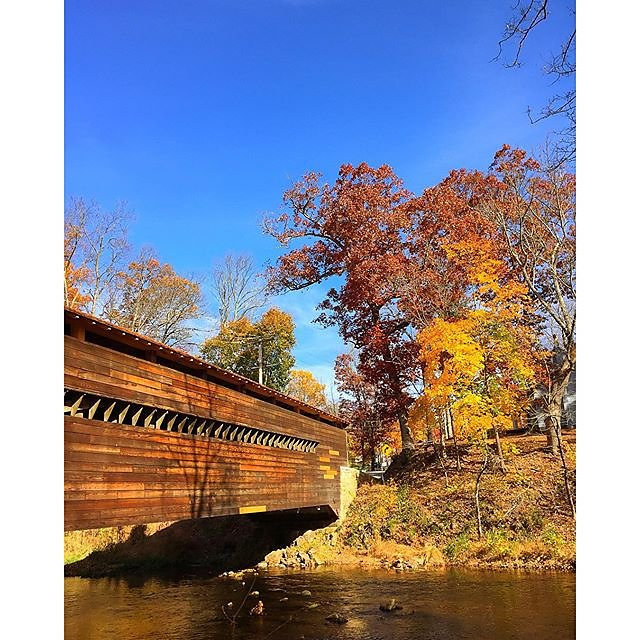 Bridge hunting in PA. #oldbridges #patourism #fall