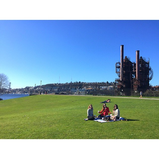 Beautiful day with these amazing ladies. #wheninpants #gasworks