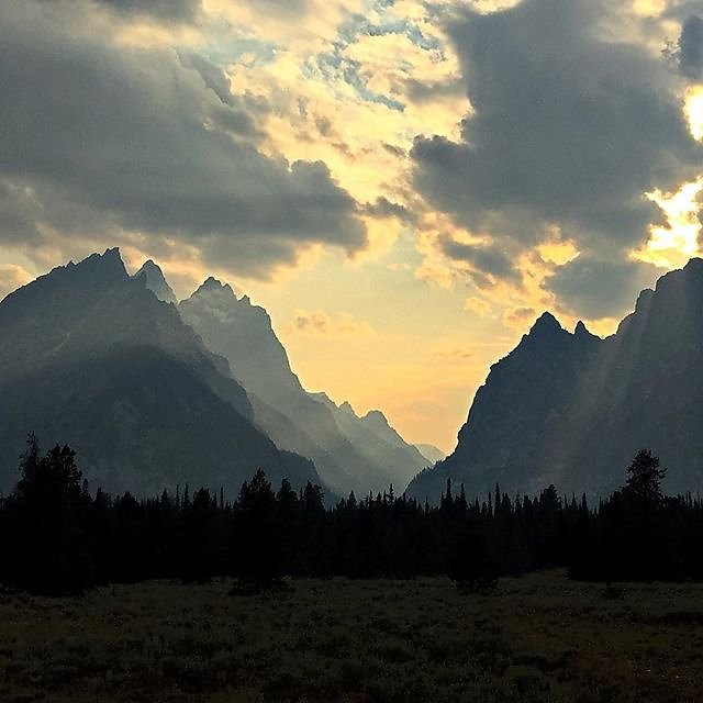 Grand Teton, you are amazing and have my heart. #grandteton #nps #wyoming