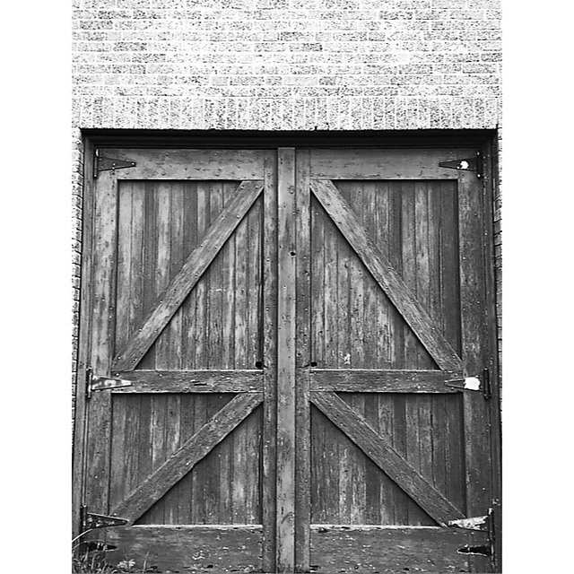 Doors of the barn.