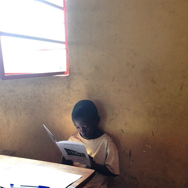 Powerful day today. Checkin' out Literacy Boost in action and seeing some amazing progress.